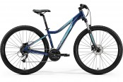 "Велосипед '19 Merida Juliet 7.40-D Колесо:27.5"" Рама:M(17"") DarkBlue/Teal"